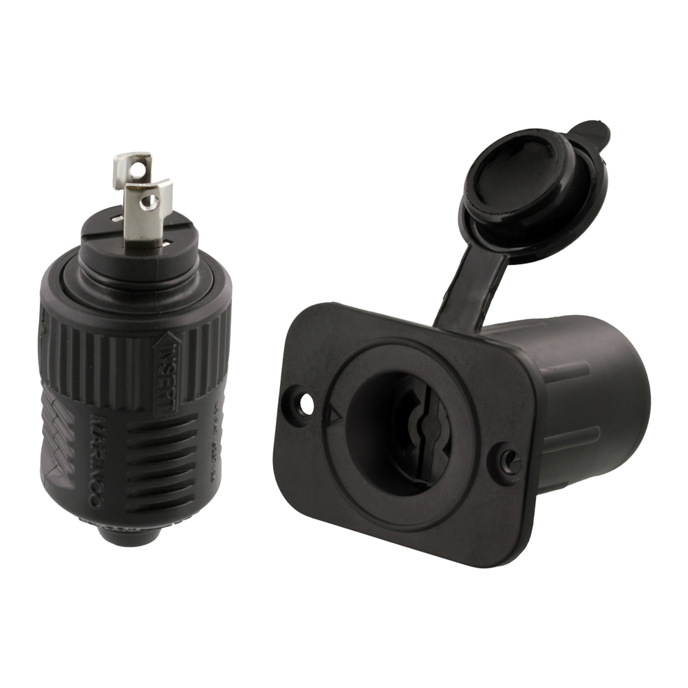 scotty no 2125 12v downrigger and receptacle from marinco 174