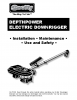 Electric Downrigger Manual