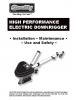HP Electric Downrigger Manual (with �ON:OFF� counter function)