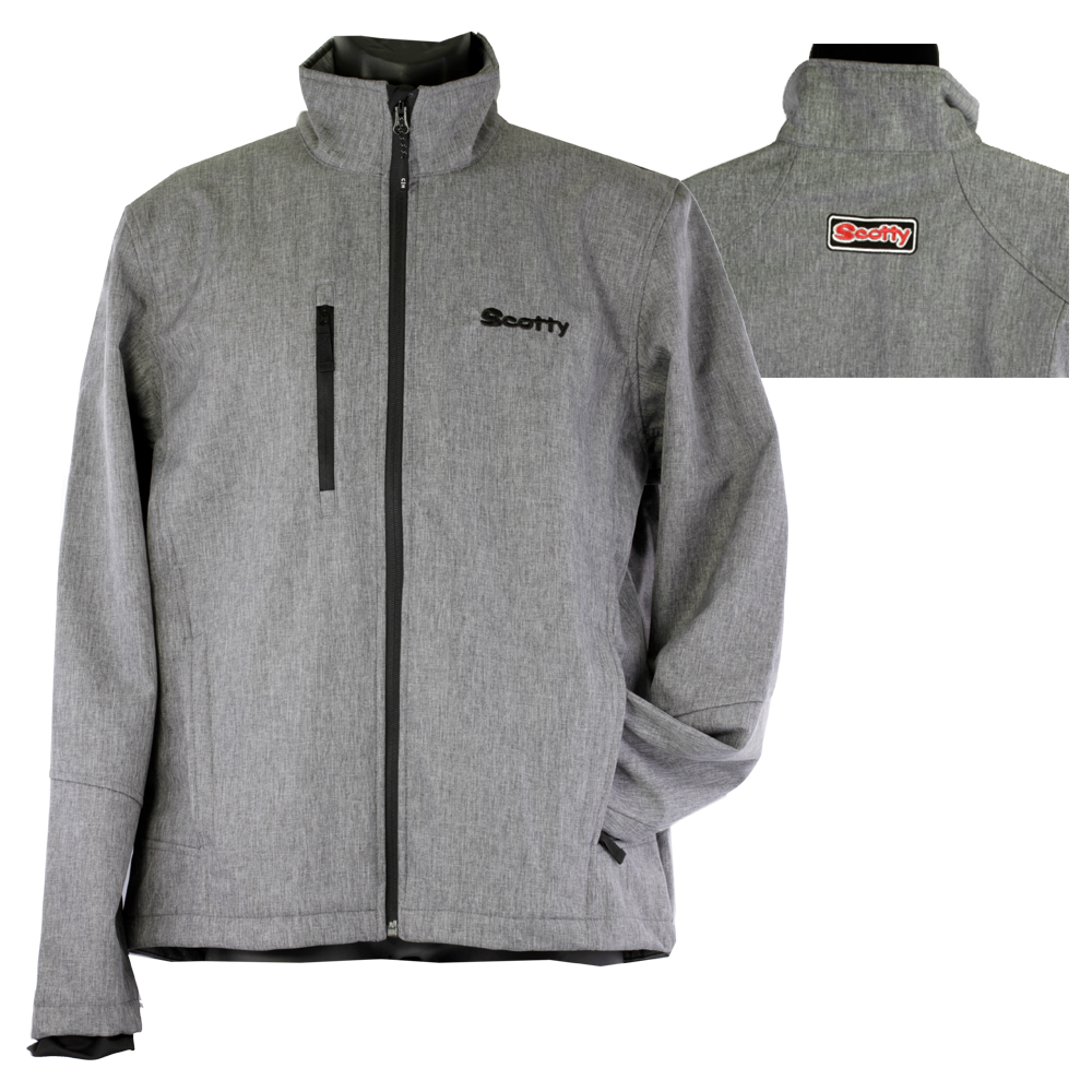 Scotty Grey Collared Jacket
